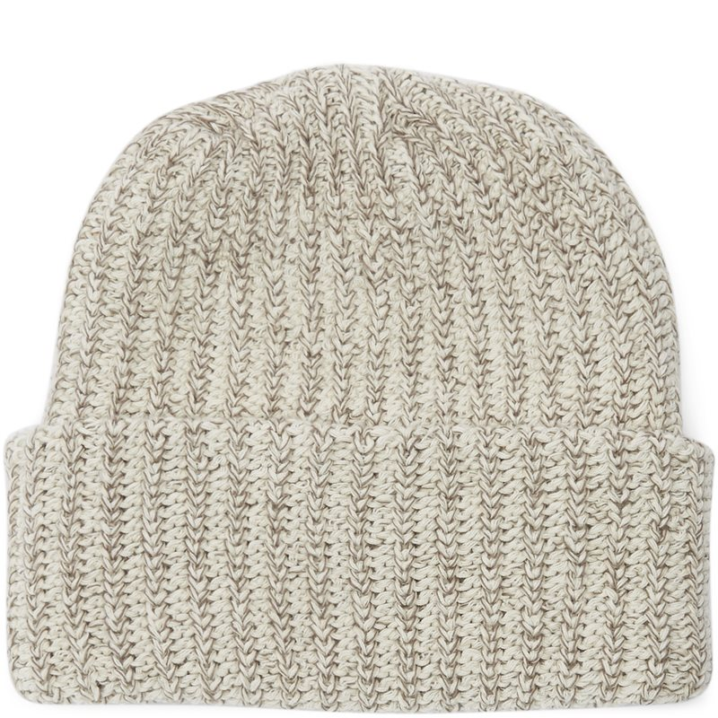 Image of   Bricks & Wood Knit Beanie Ecru Melange